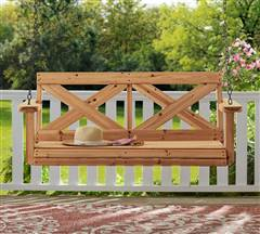 Backyard Discovery Farmhouse Porch Swing