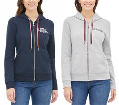 Tommy Hilfiger Ladies Full Zip Hoodie