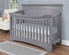 Evolur Catalina 4 in 1 Convertible Crib Gray