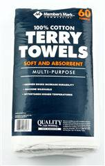 Terry Towels 60 pk