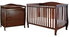 Waverly 4 in 1 Convertible Crib 3 Drawer Changer