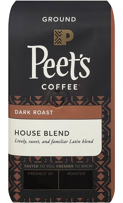 Peet's Coffee Ground Coffee House Blend 32 oz