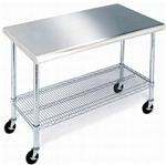 Steel Table Commercial Work Prep Table