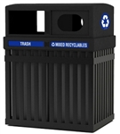 ArchTec Parkview Double Trash/Recycle Bin