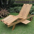 Teak Outdoor Lounge Chair
