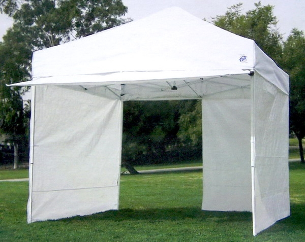 Ez Up 4 Wall 10x10 Ez Up Shelter Canopy