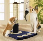 Cat Tree Play Station Furniture Post Scratcher post