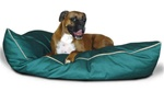 Extra Thick Large Dog Bed Green