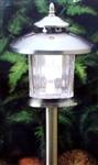 Stainless Steel SOLAR LED Landscape Path LIGHTS