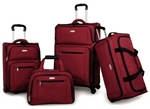 Samsonite 360 Deluxe Red 4 Piece Luggage Set