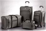 Silver Samsonite 4 Piece Spinner Suitcase Luggage Set