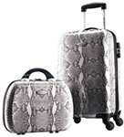 Samsonite Two Piece Snake Print Travel Set