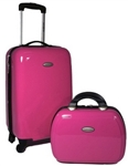 Samsonite Two Piece Pink Travel Set