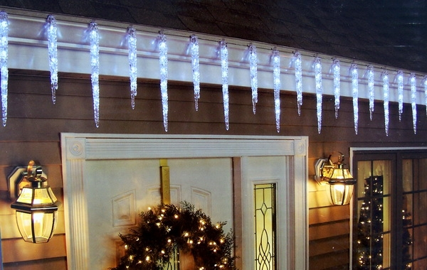 Icicle Christmas Lights.New 19 Hanging Icicle Christmas Lights Decoration 9 Long 12 15 Icicles