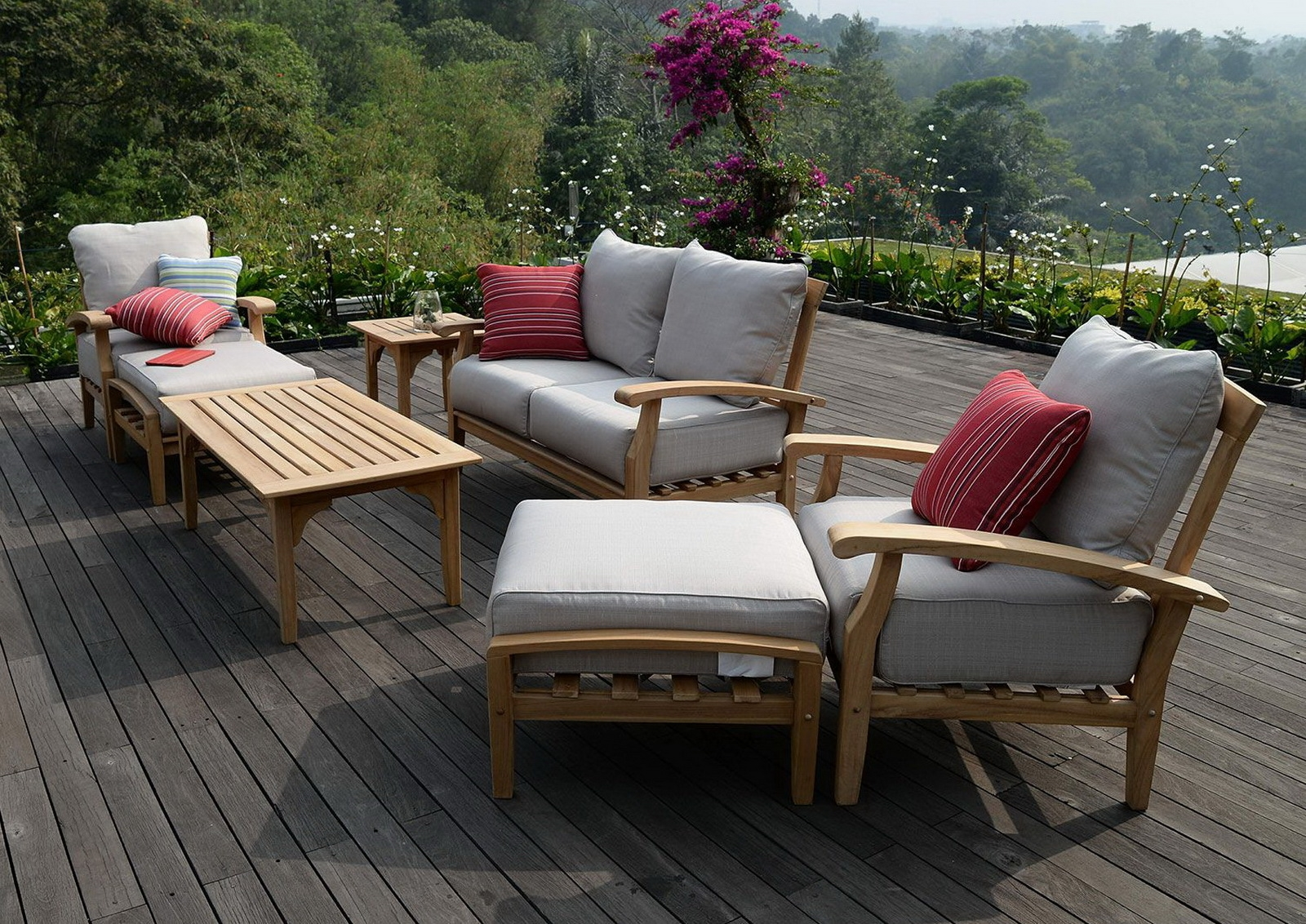 black with chair cushions sets furniture dining conservatory rattan patio outdoor dark new arm garden seater set miami in
