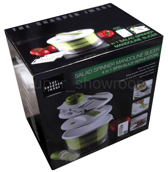 Sharper Image Salad Spinner
