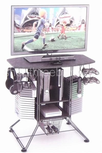 Tv Stand Gaming Hub Carbon Fiber