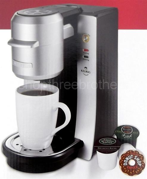 Mr Coffee Single Serve Coffee Maker Keurig K Cup Brewing System Machine