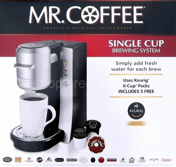 086e164890b Mr. Coffee Single Serve Coffee Maker Keurig K-Cup Brewing System ...