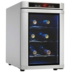 Danby Maitre'D 6-Bottle Wine Cooler Platinum