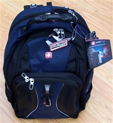 "Blue Swiss Gear 17"" Laptop Backpack Back Pack"