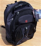 "17"" Gray Swiss Army Laptop Backpack Back Pack Grey"