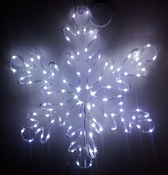 "23"" LED Snowflake Christmas  Light Indoor Outdoor Decoration"