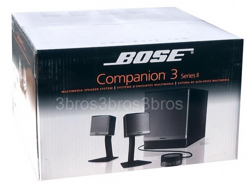 New    Bose       Companion    III    3    Multimedia Computer Speakers
