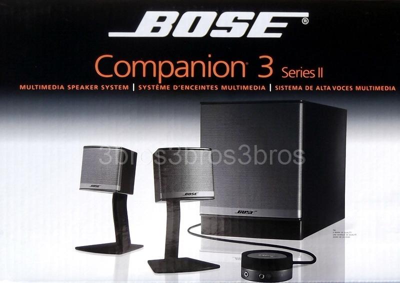 Bose Companion 3 Vs 5