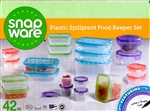 Snapware 42 Piece Containers Keeper Set