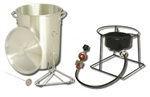 Portable Propane Turkey Fryer King Kooker 29 Qt for 20 lb Turkey with Timer