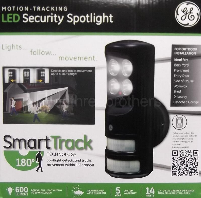 Ge motion tracking security spotlight free aloadofball Choice Image