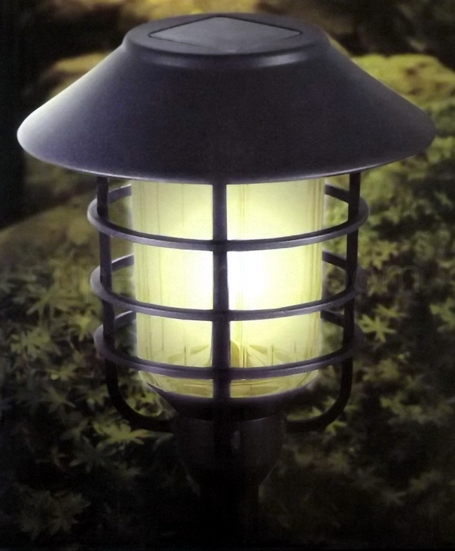 Hgtv Home 8 Piece Solar Pathway Lights