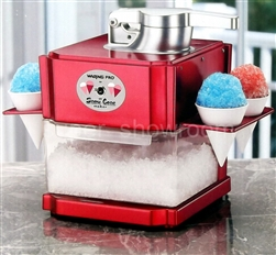 Red Snow Cone Maker