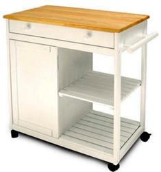 Kitchen Cart Storage Shelf & Cabinet