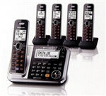 Panasonic Link2Cell Dect 6.0 Plus Cordless Phone System