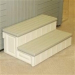 "36"" Wide Spa Entry Step Patio Hot Tub Deck Stairs"