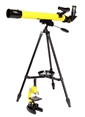 National Geographic 50mm Telescope & 1200x Microscope 28 Piece Lab Set