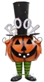 "27"" Tall Halloween Pumpkin Boy Decoration"