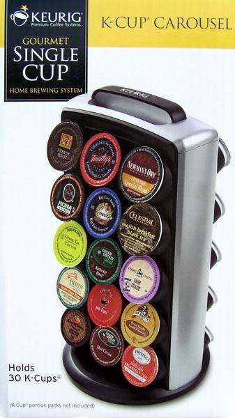 Keurig K Cup Carousel Coffee Pods Holder Rack