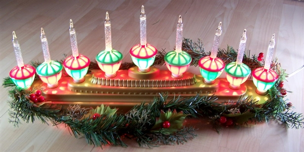 Christmas Lights Decoration Centerpiece