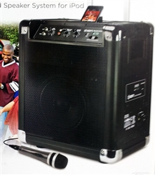 Ion Audio Portable PA iPod Dock Amp Speaker System