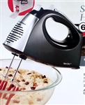 New Hamilton Beach 6 Speed Electric Hand Mixer w/ Case