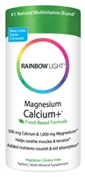 Magnesium Calcium Plus - 90 Tablets - Rainbow Light