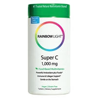 Super C - 1000 mg - 60 Tablets - Rainbow Light
