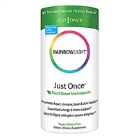 Just Once Food-Based Multivitamin - 30 Tablets - Rainbow Light