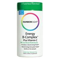 Energy B-Complex - 45 Tablets - Rainbow Light