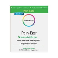 Pain-Eze Blister Box - 30 Tablets - Rainbow Light