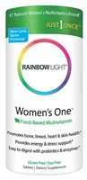 Women's One Food-Based Multivitamin - 30 Tablets - Rainbow Light