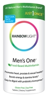 Men's One Energy Multivitamin - 30 Tablets - Rainbow Light